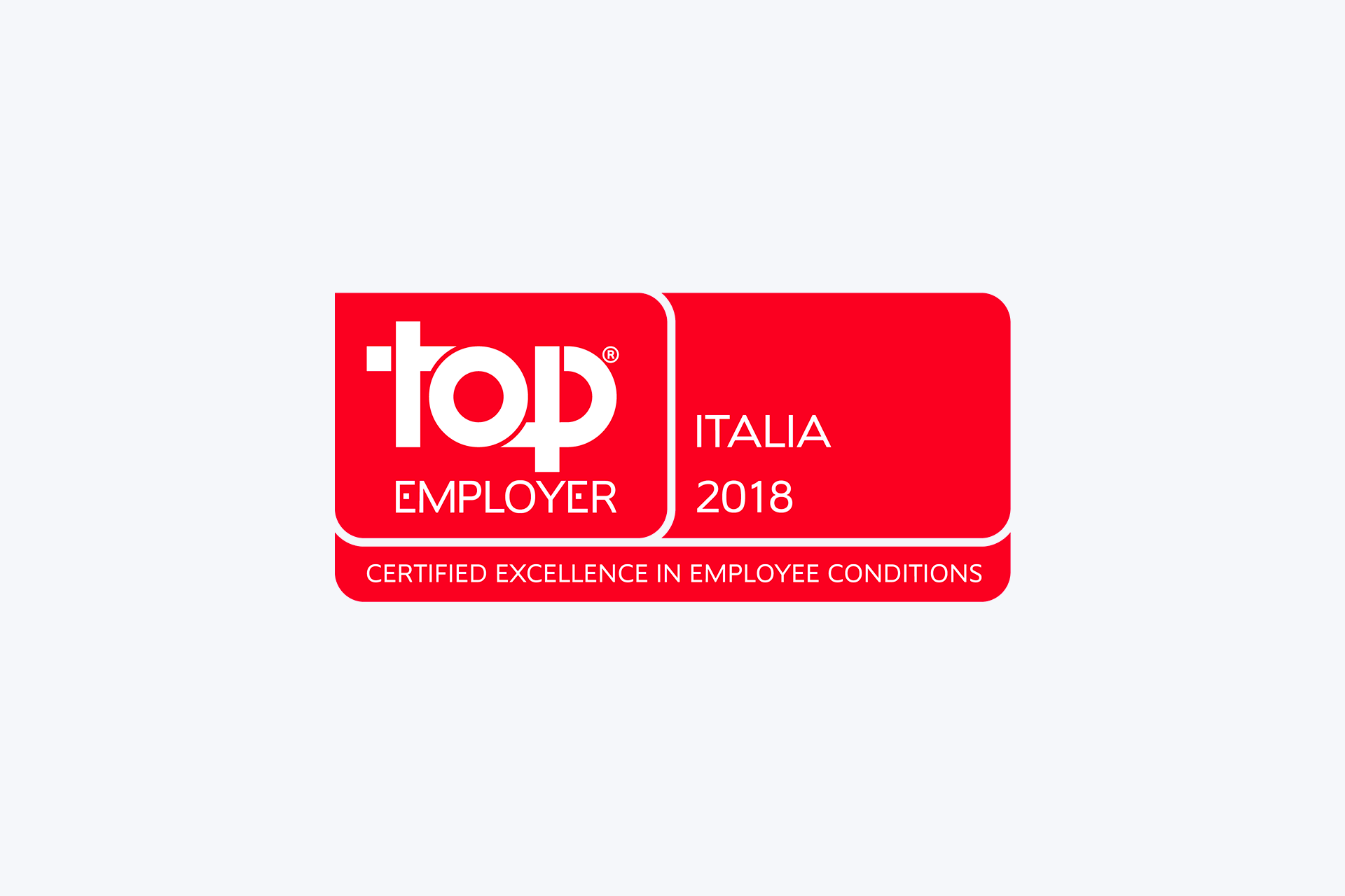 Certificata Top Employers